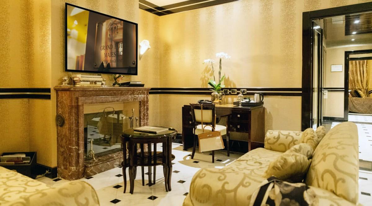 Art Deco Terrace Suite Grand Hotel Majestic Gia Baglioni