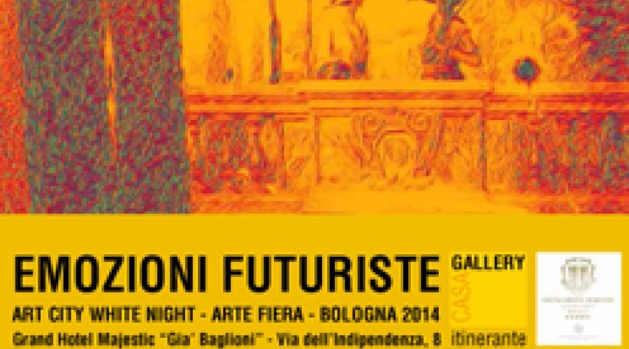 Emozioni futuriste: progetto espositivo di Casagallery