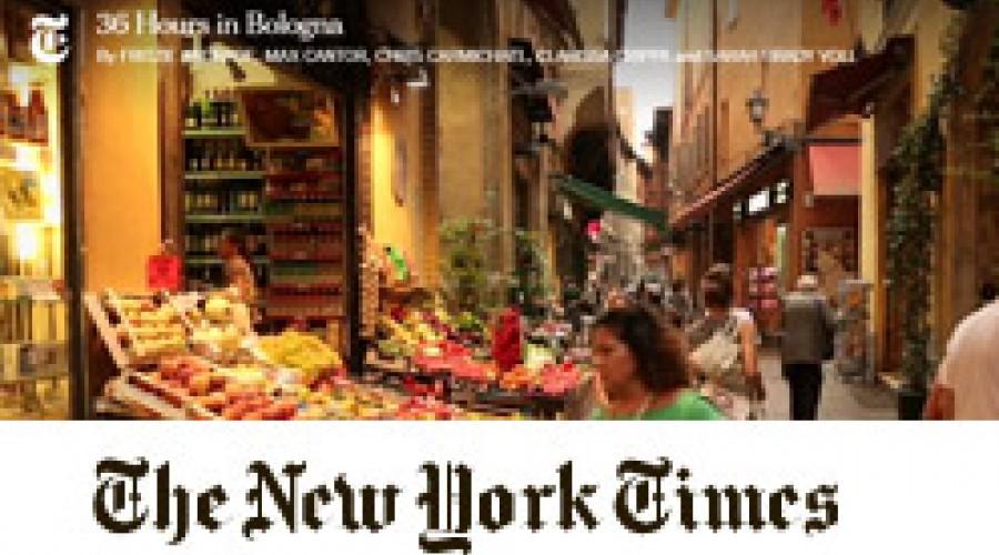 New York Times Bologna Grand Hotel Majestic