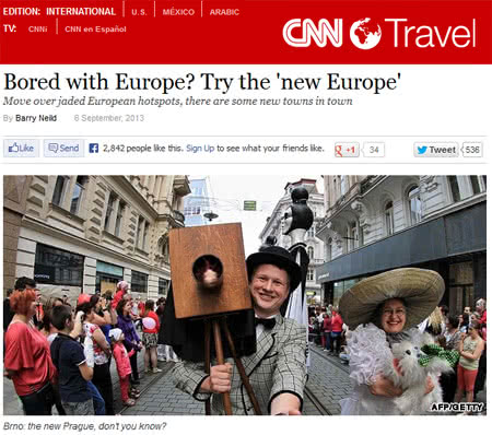 Bologne (Italy), the city of culture and taste, appeared in an article published on CNN Travel